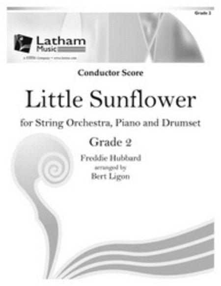 Little Sunflower for String Orchestra, Piano and Drumset - Score