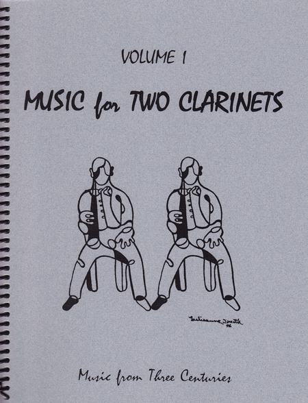 Music for Two Clarinets, Volume 1