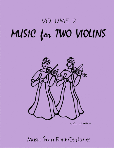Music for Two Violins, Volume 2