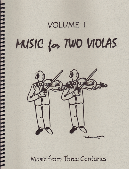 Music for Two Violas, Volume 1