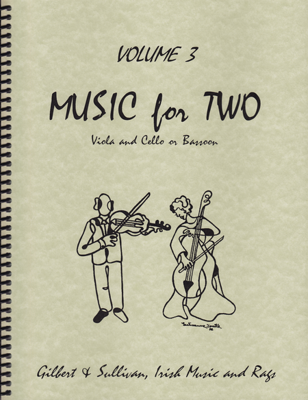 Music for Two, Volume 3 - Viola and Cello/Bassoon