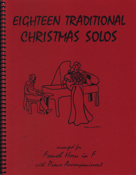 18 Traditional Christmas Solos for French Horn