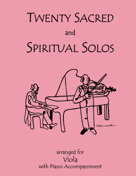 20 Sacred and Spiritual Solos for Viola