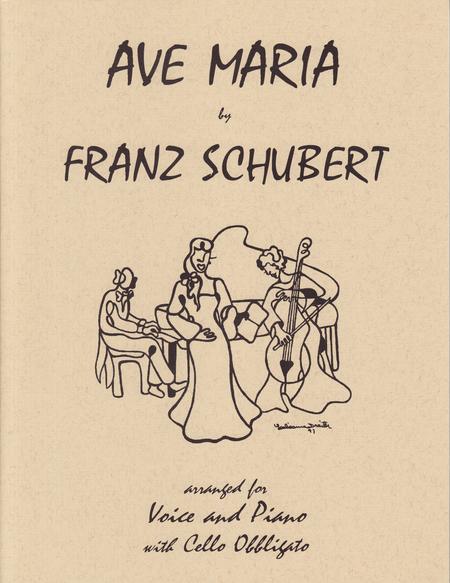 Ave Maria for Voice, Piano and Cello Obbligato