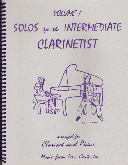Solos for the Intermediate Clarinetist, Volume 1