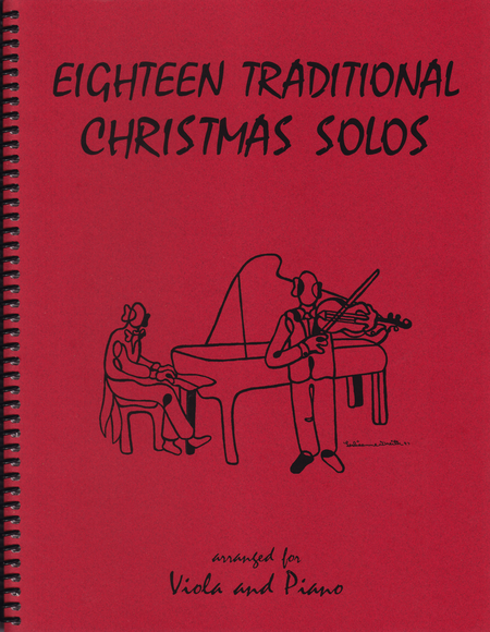 18 Traditional Christmas Solos for Viola and Piano