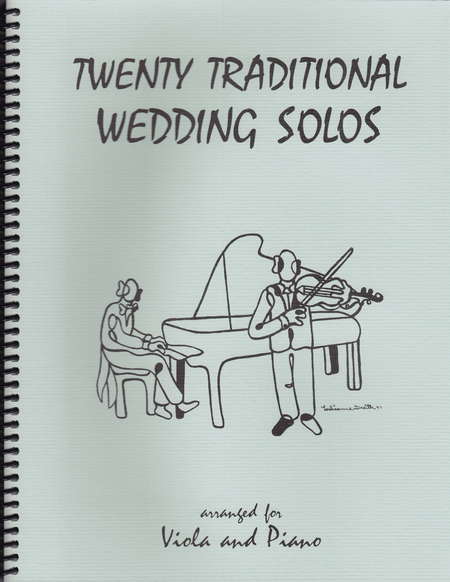 20 Traditional Wedding Solos for Viola and Piano