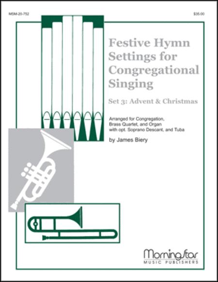 festive hymn settings for congregational singing set 3. Black Bedroom Furniture Sets. Home Design Ideas
