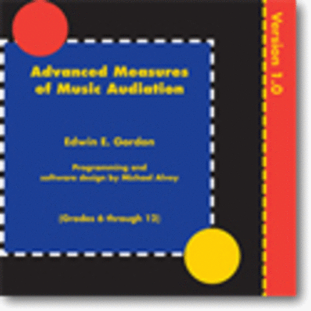 Advanced Measures of Music Audiation CD-ROM