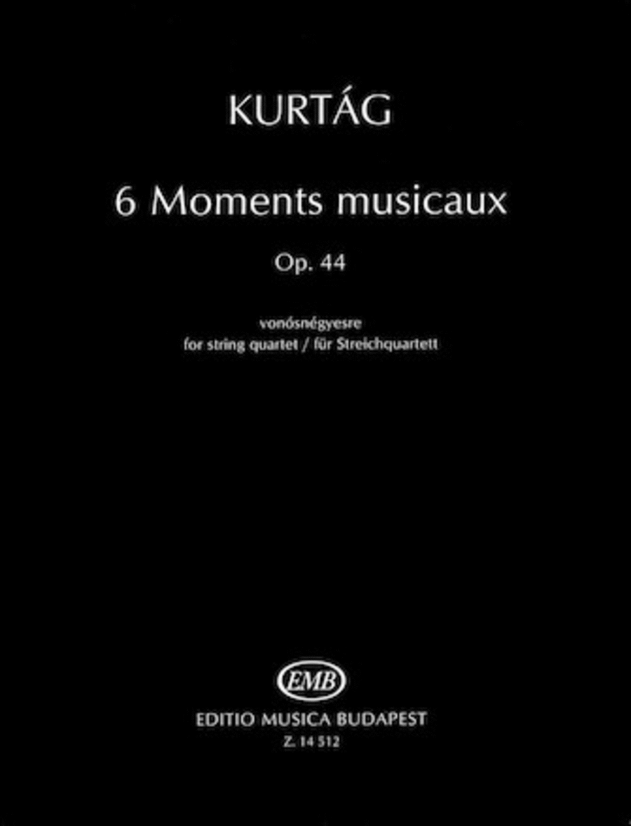 6 Moments musicaux, Op.44