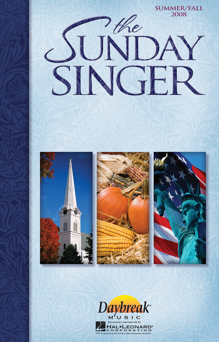 The Sunday Singer - Summer/Fall 2008