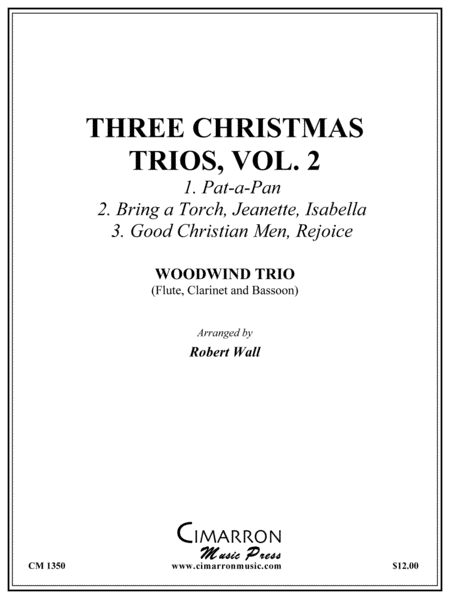 Three Christmas Trios, vol. 2