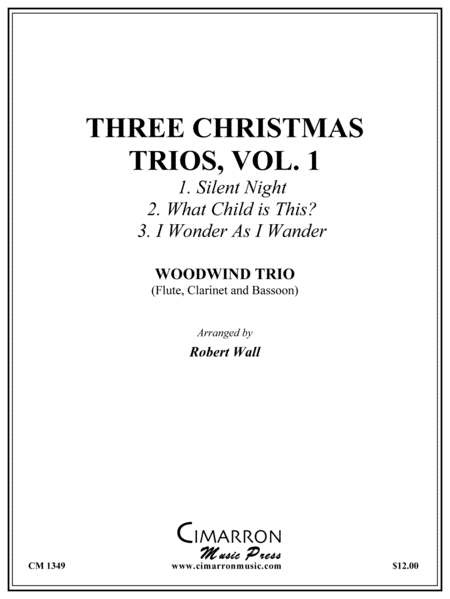 Three Christmas Trios, vol. 1