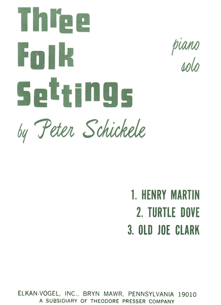 3 Folk Settings