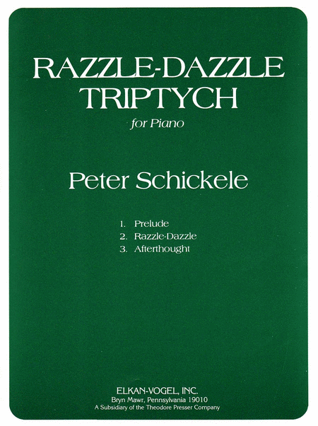 Razzle-Dazzle Triptych for Piano