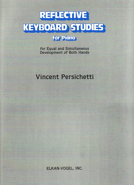 Reflective Keyboard Studies for Piano