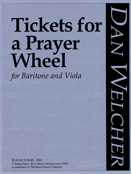 Tickets for A Prayer Wheel