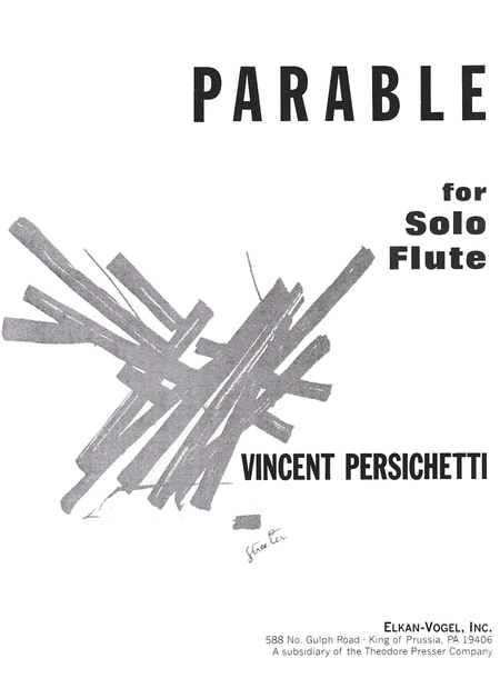 Parable for Solo Flute