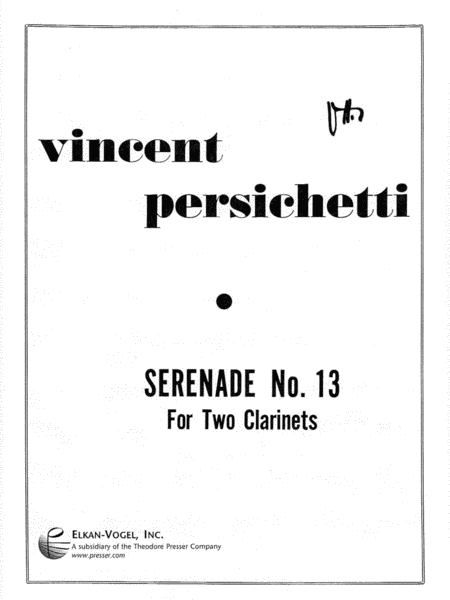 Serenade No. 13