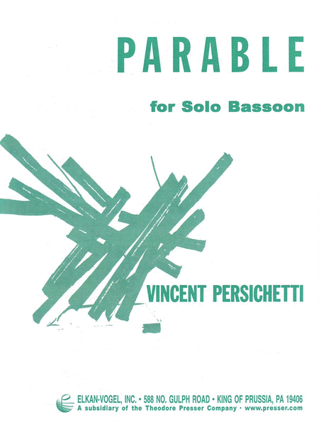 Parable for Solo Bassoon