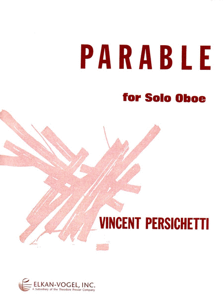 PARABLE FOR SOLO OBOE