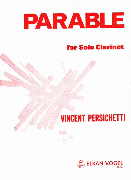 Parable for Solo Clarinet
