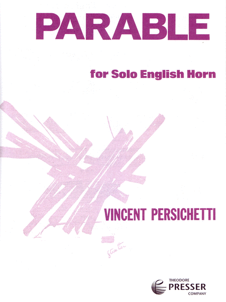 Parable for Solo English Horn