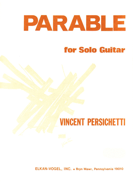 PARABLE FOR SOLO GUITAR