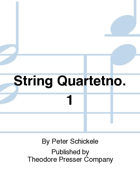 String Quartetno. 1