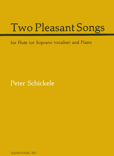 Two Pleasant Songs