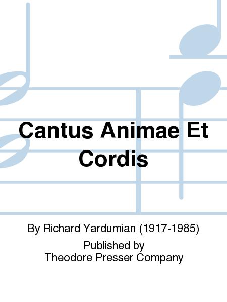 Cantus Animae Et Cordis