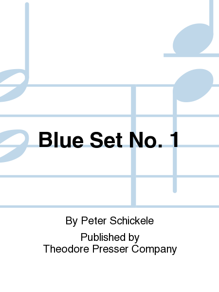 Blue Set No. 1