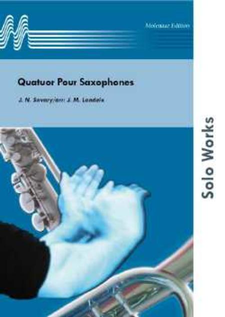 Quatuor Pour Saxophones