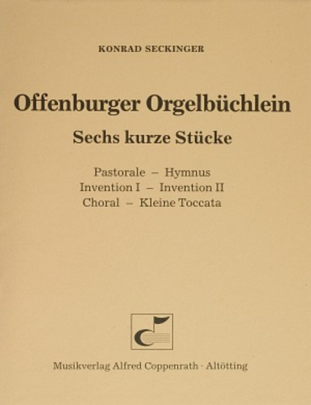 Seckinger, Offenburger Orgelbuchlein