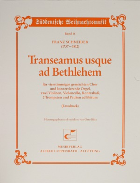 Transeamus usque ad Bethlehem