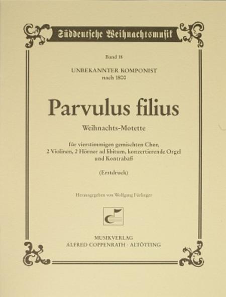 Parvulus filius