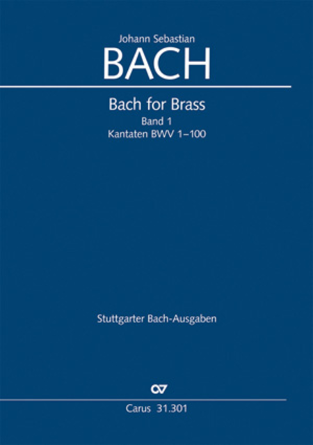 Bach for Brass 1: Kantaten I