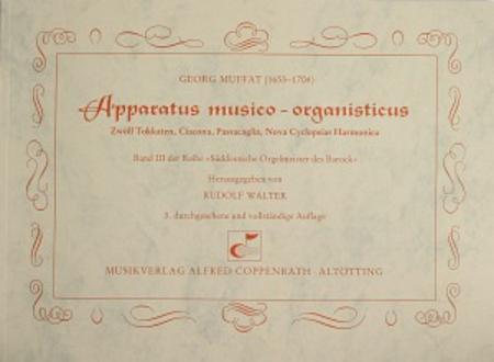Muffat: Apparatus musico-organisticus