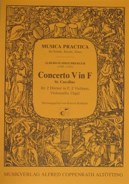 Concerto V in F