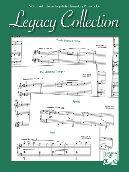 Legacy Collection: Volume 1: Elementary - Late Elementary Piano Solos