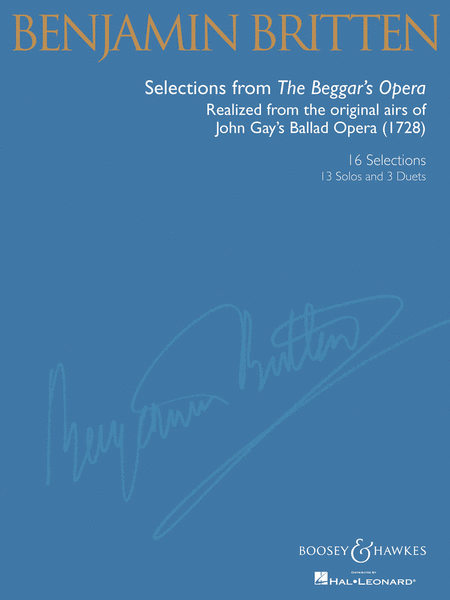 Britten: Selections from The Beggar's Opera