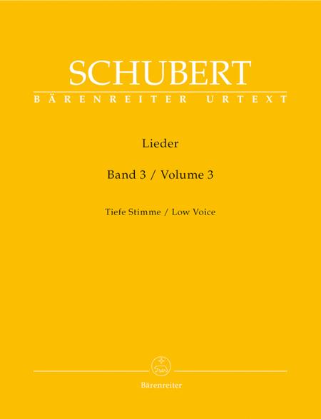 Lieder, Volume 3, Op. 80-98
