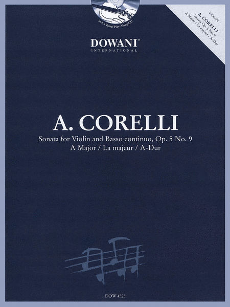 Corelli: Sonata, Op. 5, No 9 in A Major