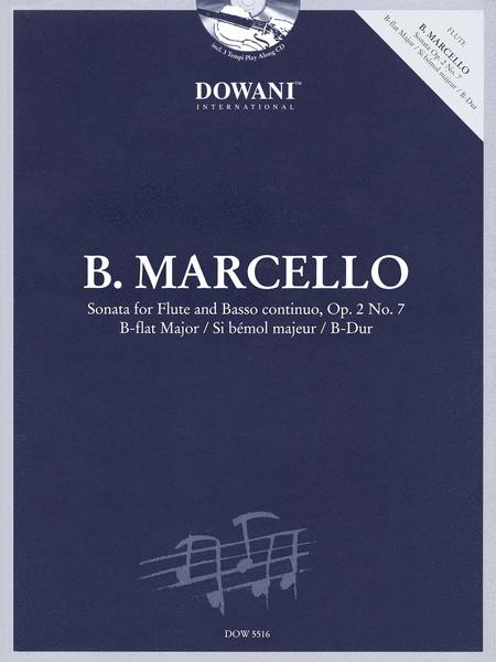 Marcello: Sonata for Flute & Basso Continuo Op. 2 No. 7 in B-flat Major