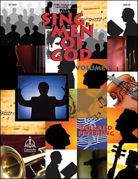 Sing Men of God, Volume 1 (reproducible)