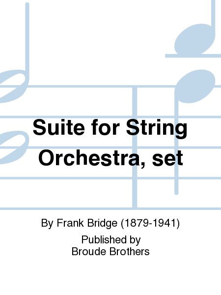 Suite for String Orchestra, set