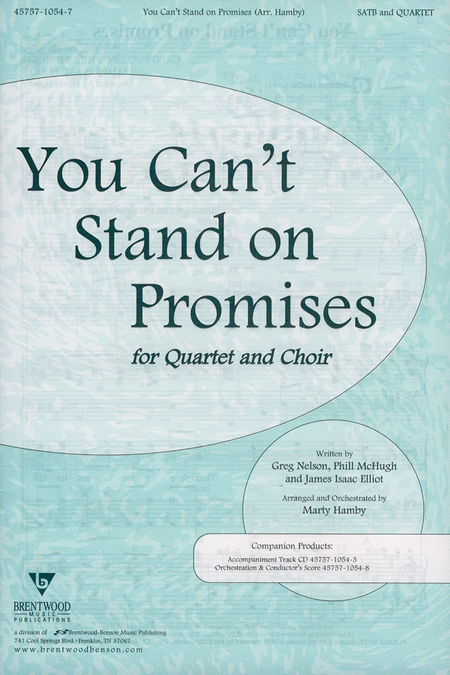 You Can't Stand On Promises (Anthem)