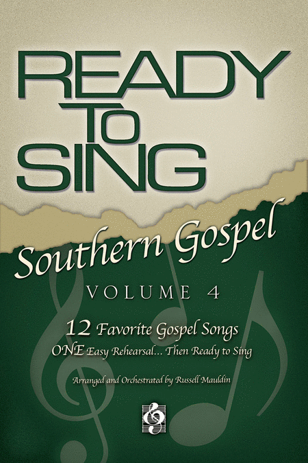 Ready To Sing Southern Gospel, Volume 4 (Split Track Accompaniment CD)
