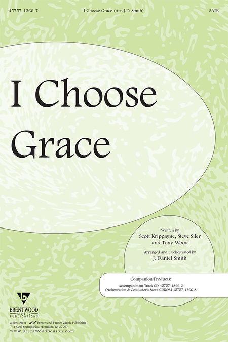 I Choose Grace (Split Track Accompaniment CD)