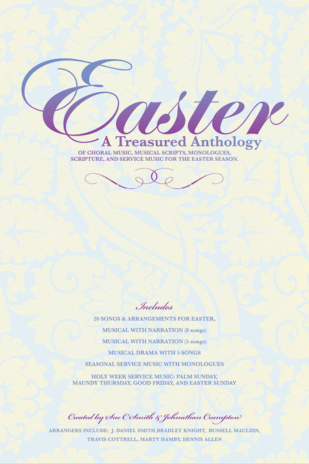 Easter, A Treasured Anthology (Split Track Accompaniment CD)